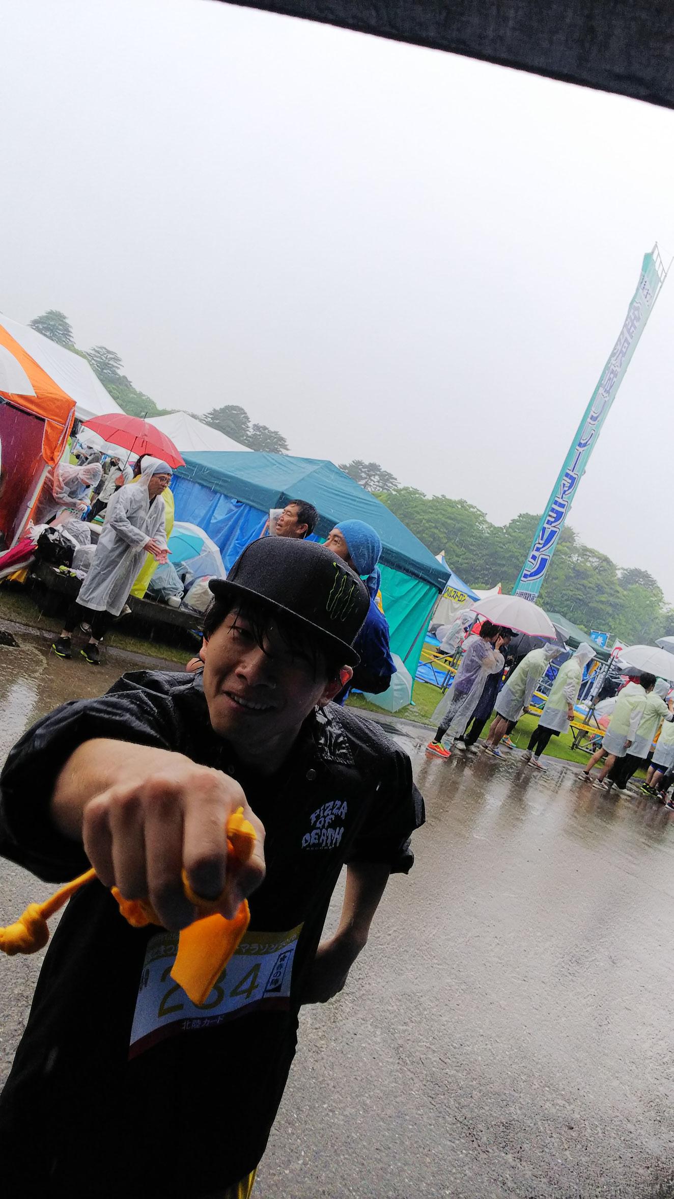雨ニモ負ケズ!!